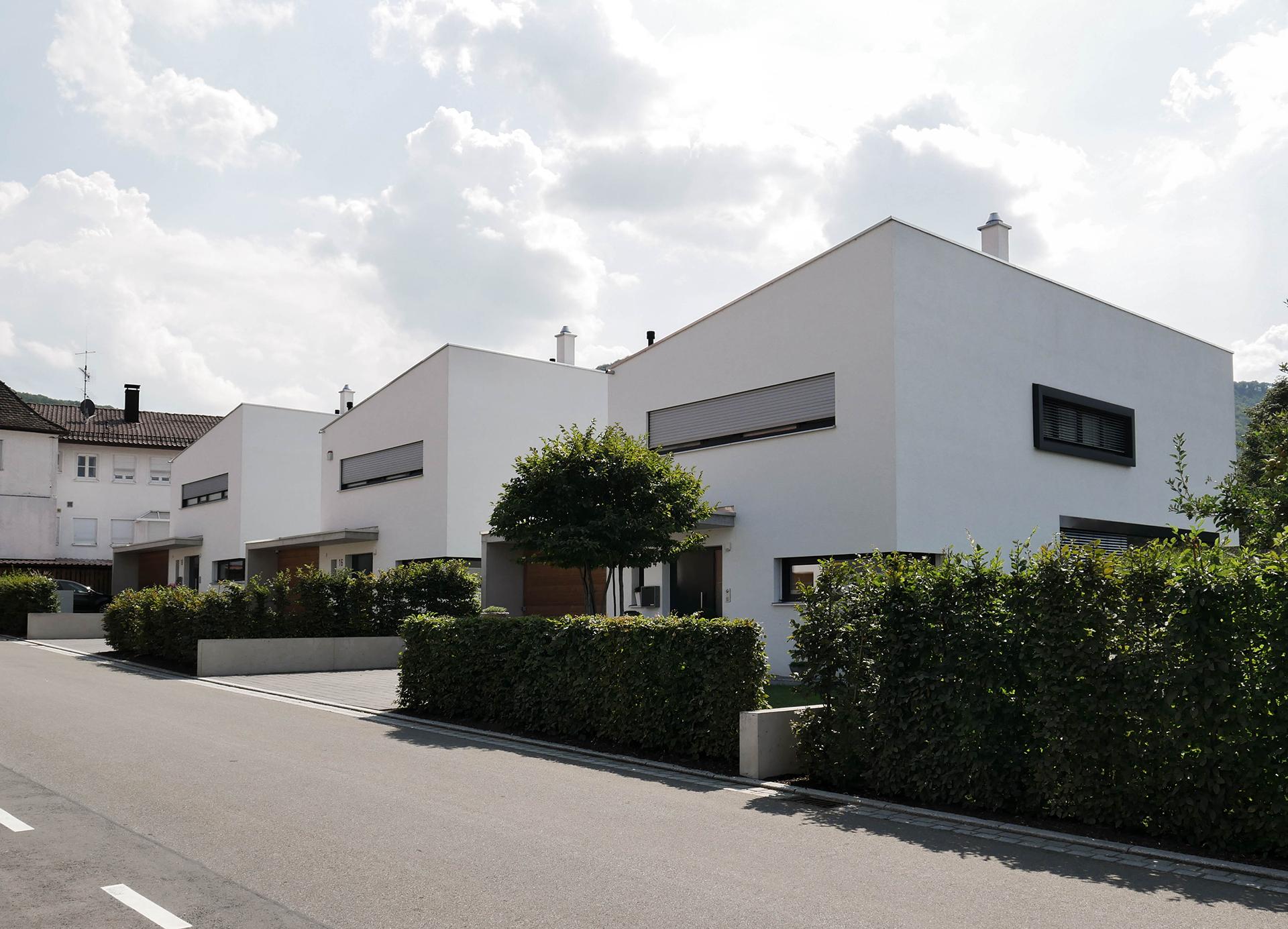 3 Einfamilienhäuser in Beuren